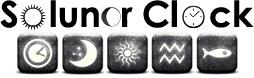 solunar clock logo